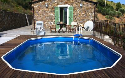 Zwembadterras